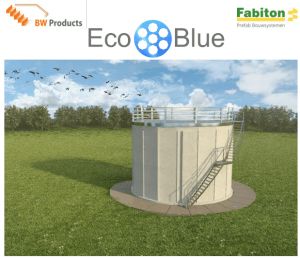 Brightwork & Fabiton developed the EcoBlue filter. This Figure shows an artist impression of the EcoBlue filter.
